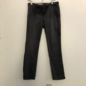 Pilcro letterpress anthro gray jeans